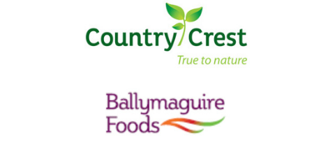 Country Crest/ Ballymaguire Foods logotype