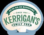 Kerrigan's Mushrooms logotype